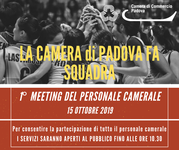 1° meeting personale camerale